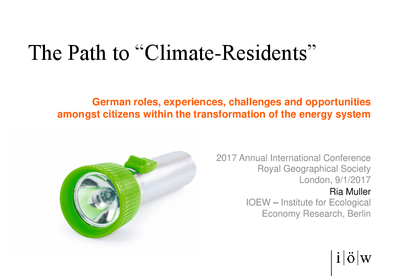 "The Path to ""Climate-Residents"""