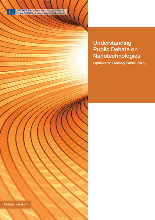 The Future of Deliberative Processes on Nanotechnology