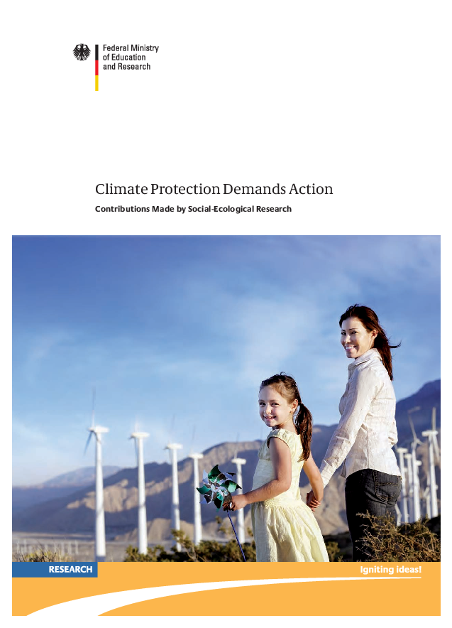 Climate protection demands action