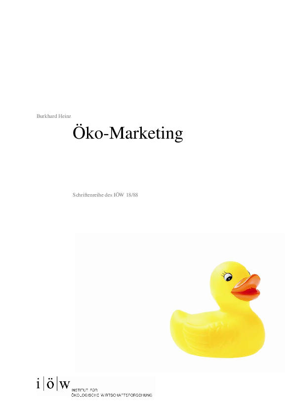Ökomarketing