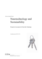 Nanotechnology and Sustainability. Prospective Assessment of a Future Key Technology