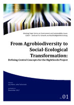 From Agrobiodiversity to Social-Ecological Transformation