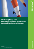 Value-added and employment effects by the expansion of renewable energies