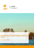 Adaptation to Climate Change in the Baltic States