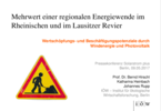 Added Value of a Regional Energy Transition in the Rhenisch and  Lusatian Lignite Mining Regions