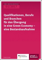 Qualification, professions and branches for the transition to a green economy – an inventory