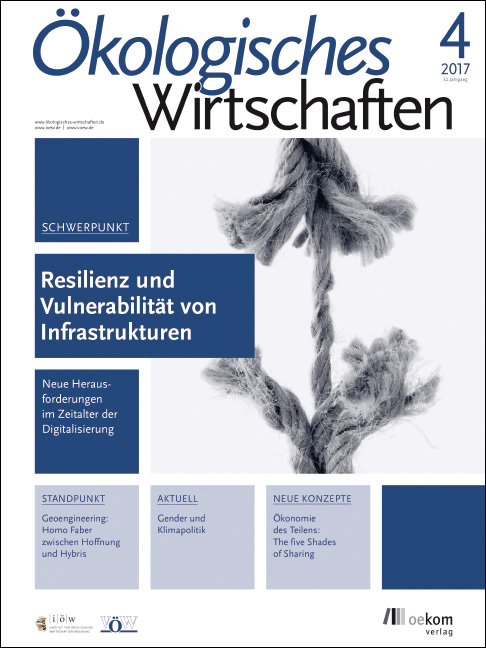 Reselience and Vulnerability of Infrastructures