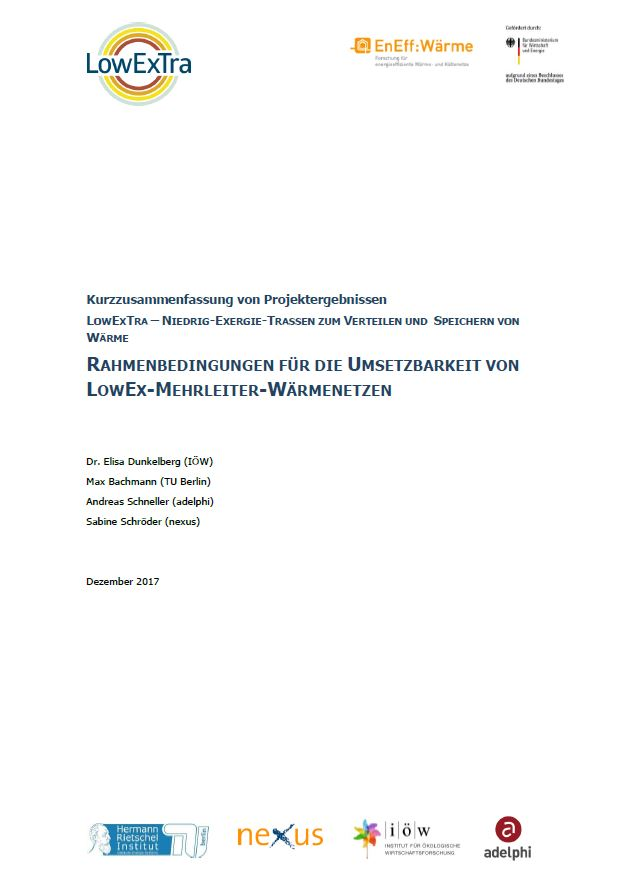 Framework for the Feasibility of a Low-Temperature, Multilevel District Heating Grid
