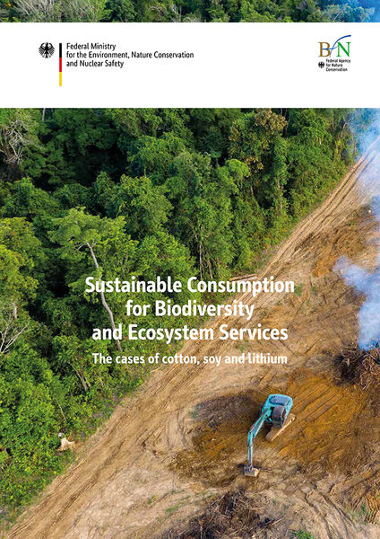Sustainable Consumption for Biodiversity and Ecosystem Services