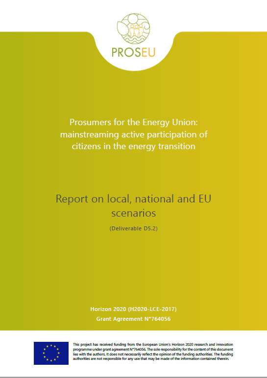 Prosumers for the Energy Union: mainstreaming active participation of citizens in the energy transition