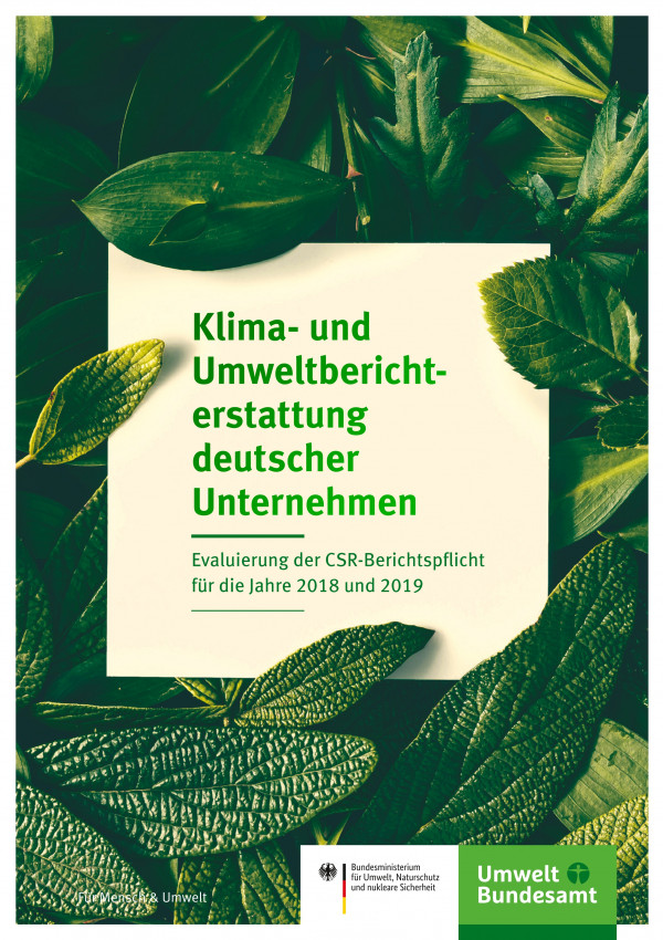 Climate and environmental reporting by German companies