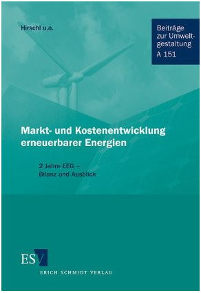 Market- and Costanalysis of Renewable Energies in Germany - 2 years Renewable-Energy-Act - Results and Outlook